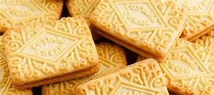 Custard cream biscuit cake mold