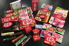 Kit Kat flavours from Japan