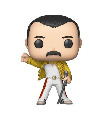 Don't tolerate a boring middle life. Release your inner Freddie with a Funko Pop. Be more Don
