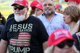 Trump found Jesus, but it was a step too far