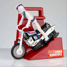 Evel Knievel liked amazing stunts. Was he a hip replacement hero or broken bone madman? 2