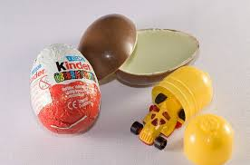 Kinder Egg metaphor for life