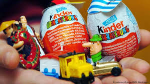Kinder egg with high milk content to boost growth
