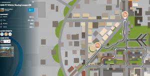 Zwift street map