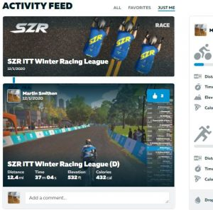 Zwift for middle age men in garages