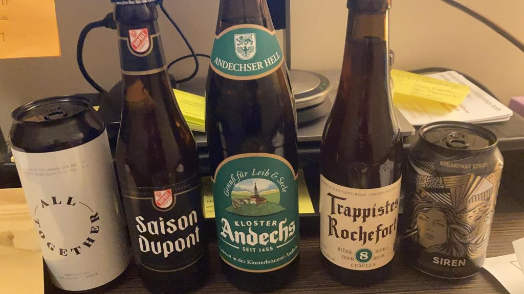 Online beer tasting in Covid 19 proved you can get drunk online